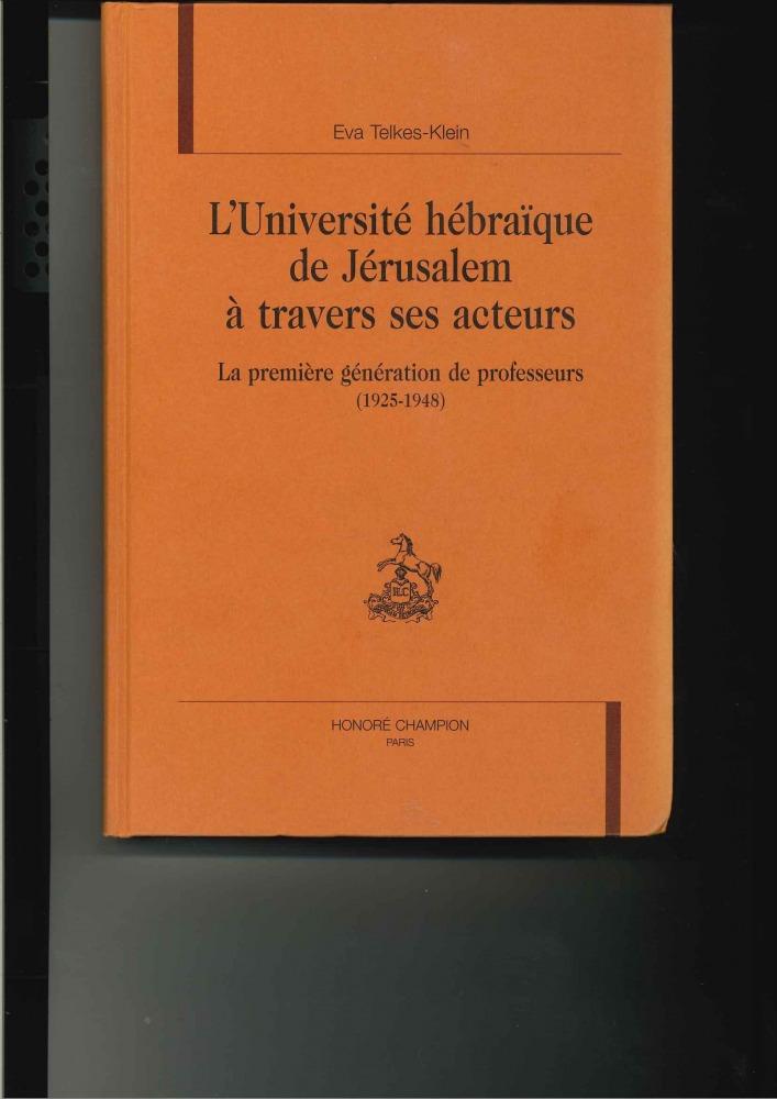 ספרה של אווה טלקש (בצרפתית) גרסה מלאה